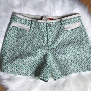 "Anthropologie ""Rose Point"" shorts by Cartonnier"